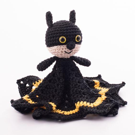 Free Crochet Batman Amigurumi Patterns : Patterns, Crochet batman and Crochet on Pinterest
