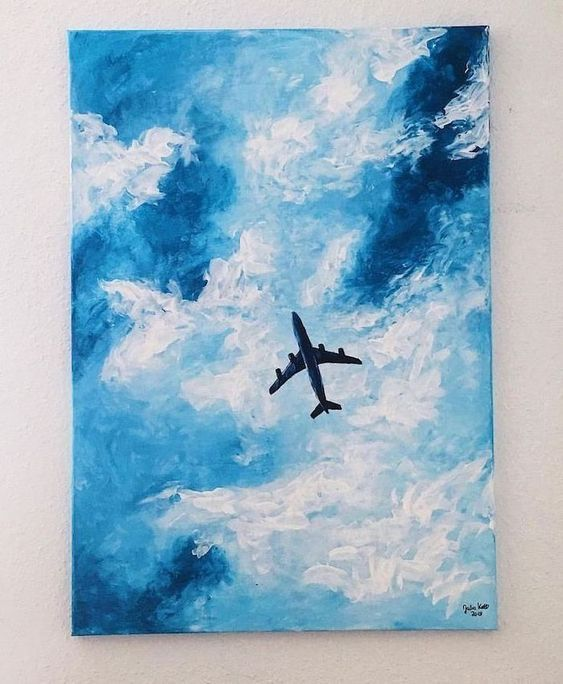 30 Diy Easy Canvas Painting Ideas For Beginners Simple Paintings Art Small