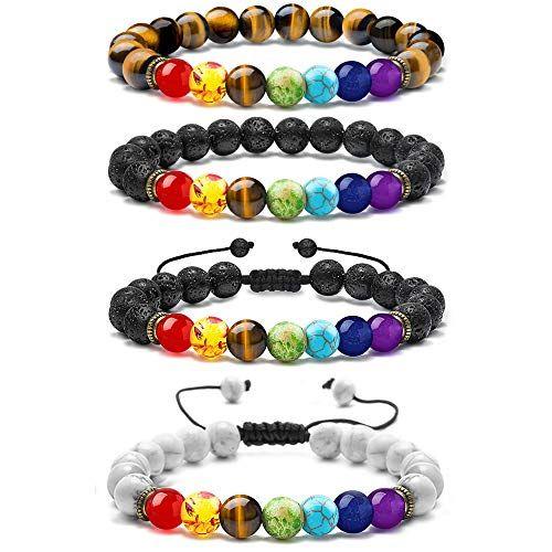 M MOOHAM Chakra Bead Bracelets   Chakra beads, Chakra beads