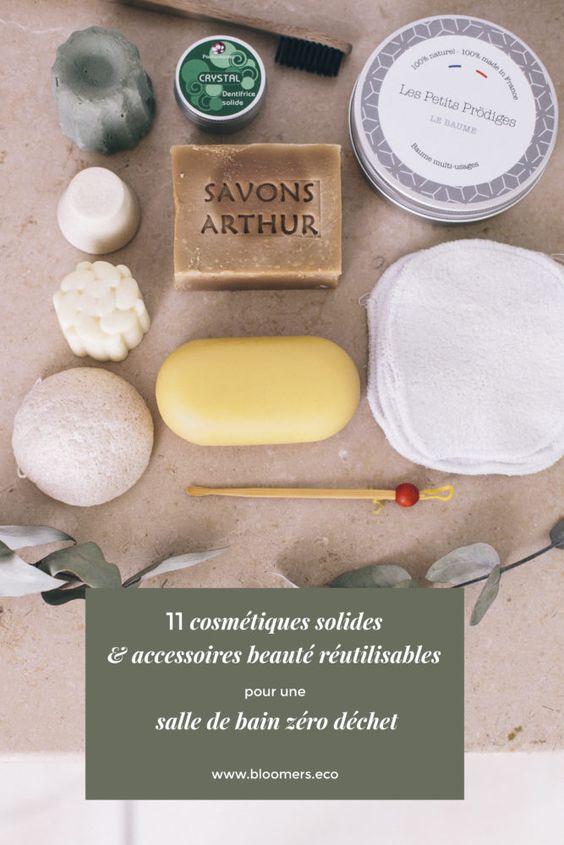 11 Cosmetiques Solides Accessoires Beaute Reutilisables Pour Une