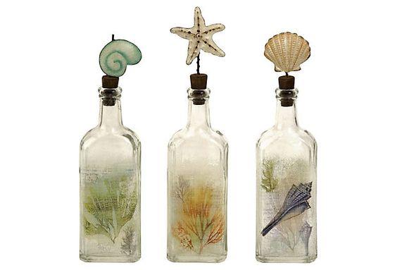 Coastal bottles ...
