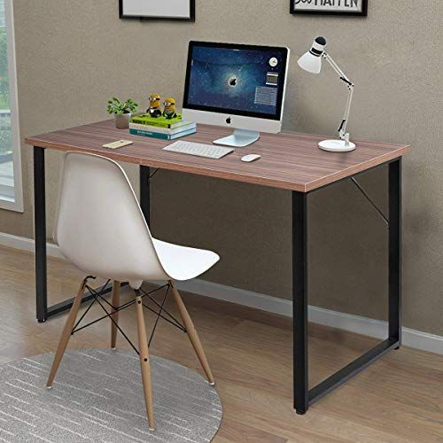 Tangkula Writing Table Computer Desk Writing Desk Simple Modern
