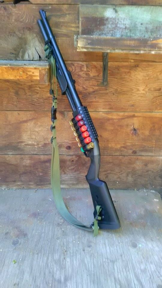 magpul 870 furniture. remington 870 with magpul furniture and mesa tactical sidesaddle accessories upgrades reviews forum