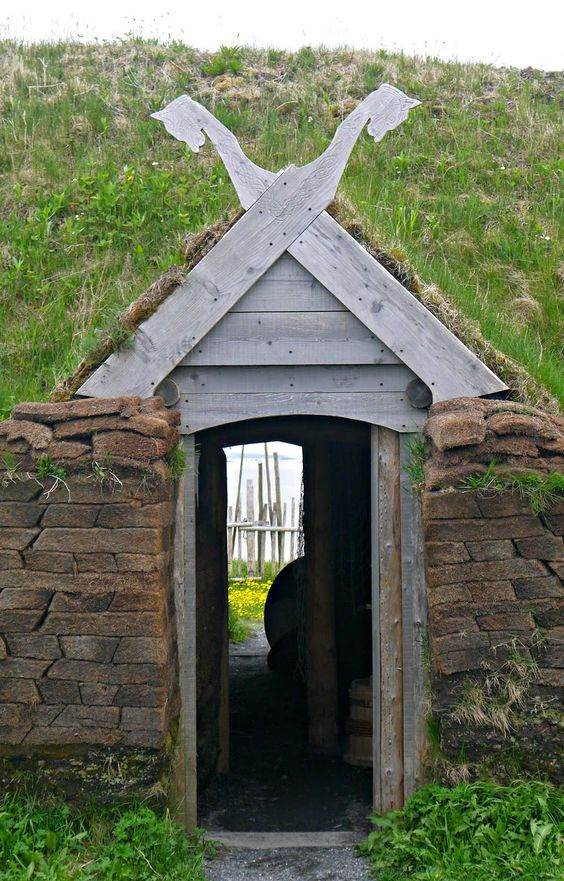 Sense and Simplicity - L'Anse aux Meadows a Viking village in northern Newfoundland: