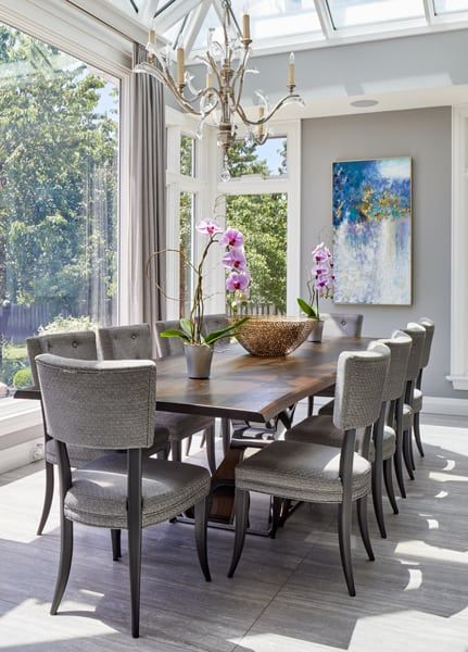 Vaughan Renovation And Decor Sunroom Dining Dining Table Chairs