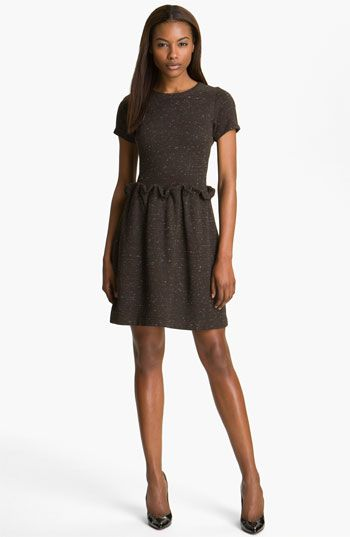 Carven 'Flanette' Knit Dress available at Nordstrom