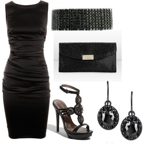 polyvore dresses | Lil Black Dress - Polyvore on imgfave