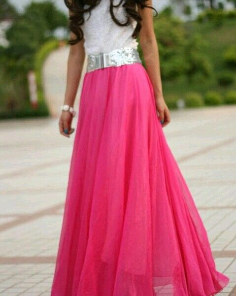 Nice, Skirts and Long skirts on Pinterest