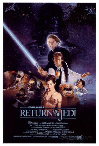 Le Retour du Jedi Affiche