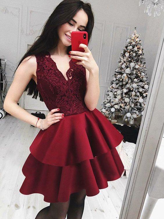 Vestidos Elegantes Cortos Rosario Contreras En 2019