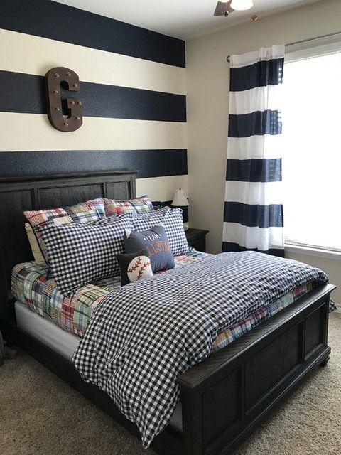 Madras Quilt Boys Bedroom Decor Boy Room Bedroom Design