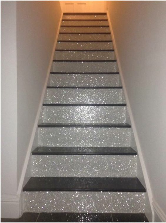 Glitter Stairs Ideas Pinterest Glitter Stairs The