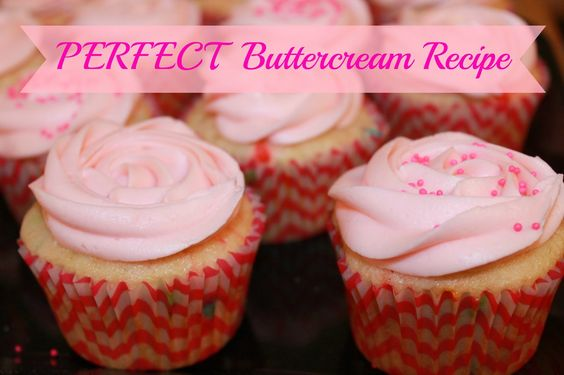Perfect Buttercream Recipe - simple buttercream that holds its shape and is so simple to make!!  This is my new favorite icing.: