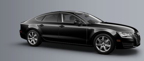 Audi A7... Probably the best looking Audi sedan EVER!!!