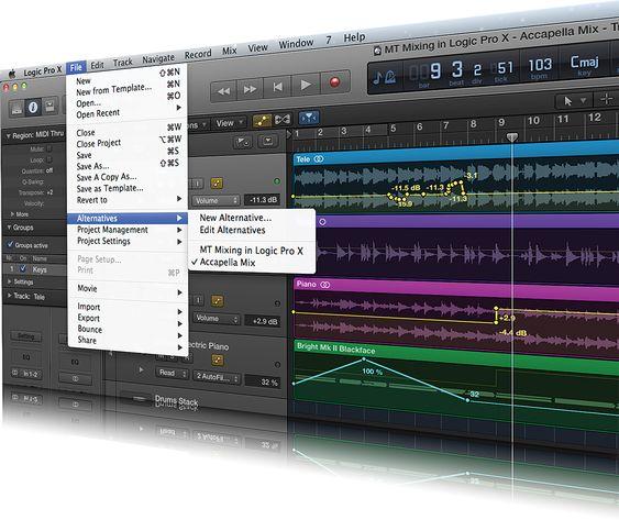 Logic Pro X Tutorial: Become a Power User Tutorial Part 11 – Better mixing in Logic Pro X - MusicTech   MusicTech