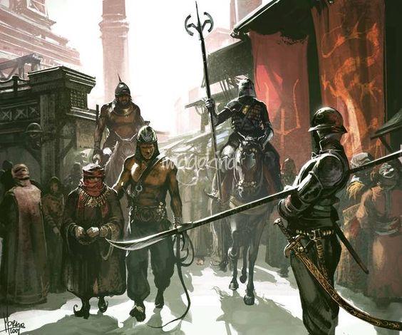 Dothraki Honor Guard by Tomasz Jedruszek