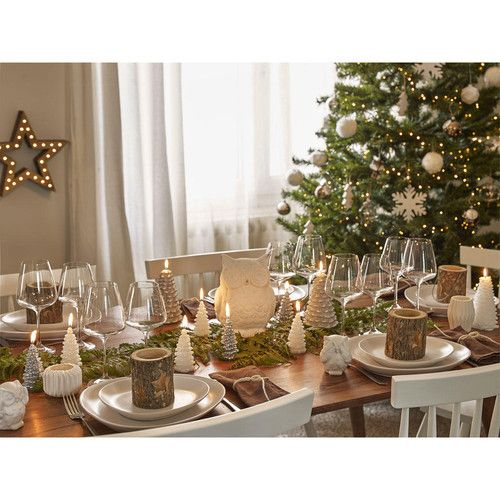 D co de table de no l for t scandinave maisons du monde il tait une fois - Maison du monde deco noel ...