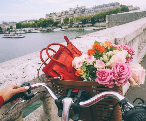 Bike rides in Paris. #dreams:
