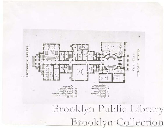 [Floor plans for Kings County Courthouse]