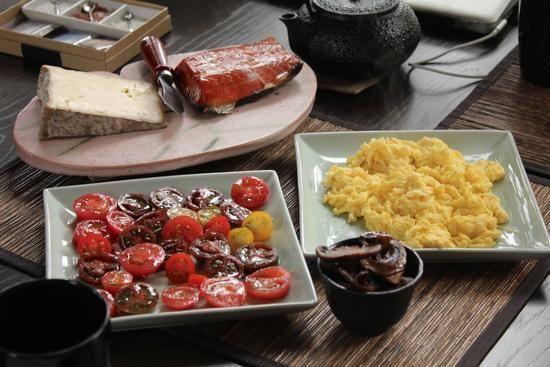 Blueberry Octopie: Breakfast at Imma's