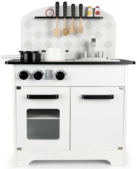 Kuchnia Drewniana Dla Dzieci Z Dzwiekami I Akcesoriami Kitchen Appliances Kitchen Home