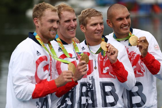 Team GB coxless four win rowing gold at Rio 2016