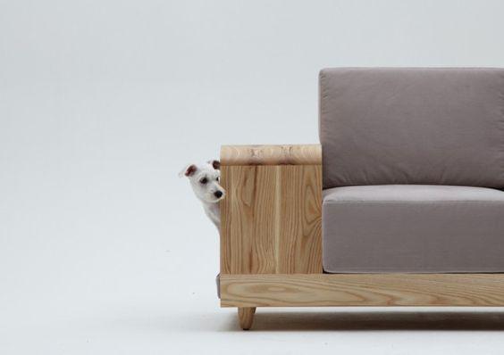 M.Pup «Dog House Sofa» by Seungji Mun