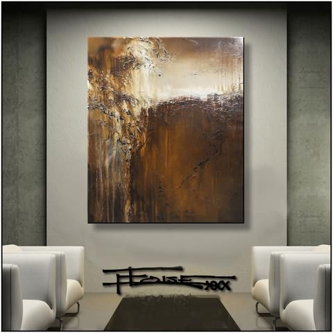 Nutmeg Desire Limited Edition 36 X 30 X 1 5 Inch Modern Wall Art Canvas Modern Canvas Painting Wall Art Canvas Painting