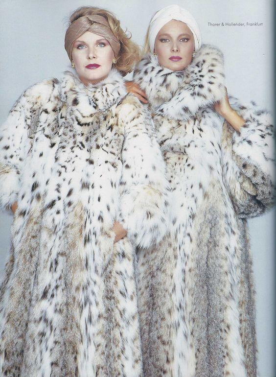 lynx fur coats