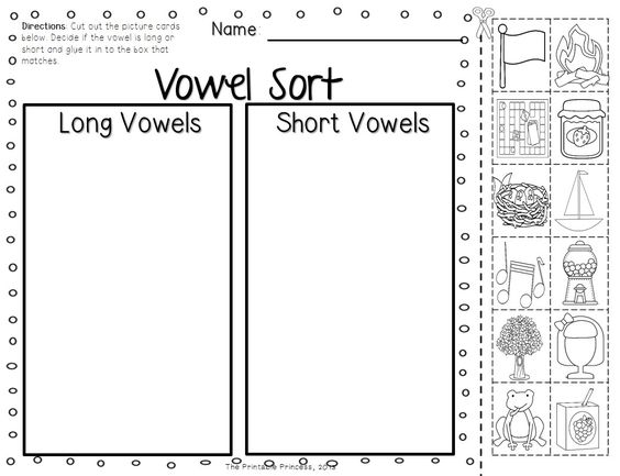 short vowels and long vowels activities pictures and practice pages shorts picture cards. Black Bedroom Furniture Sets. Home Design Ideas