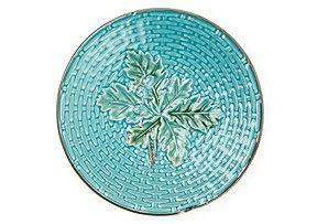 Acorn Leaf Dessert Plate. fabulous.