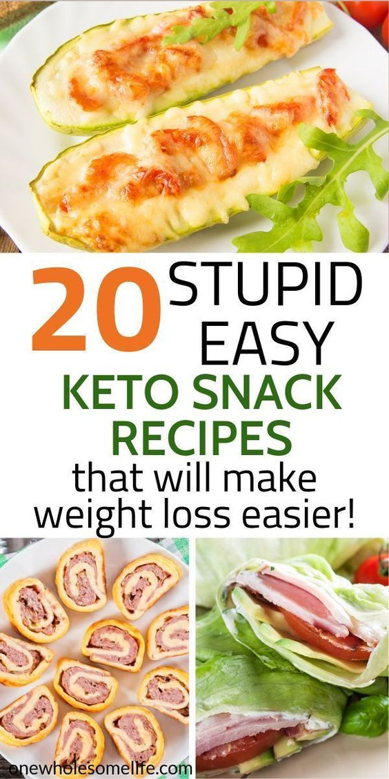 20 Keto Snack Recipes for Weight Loss -