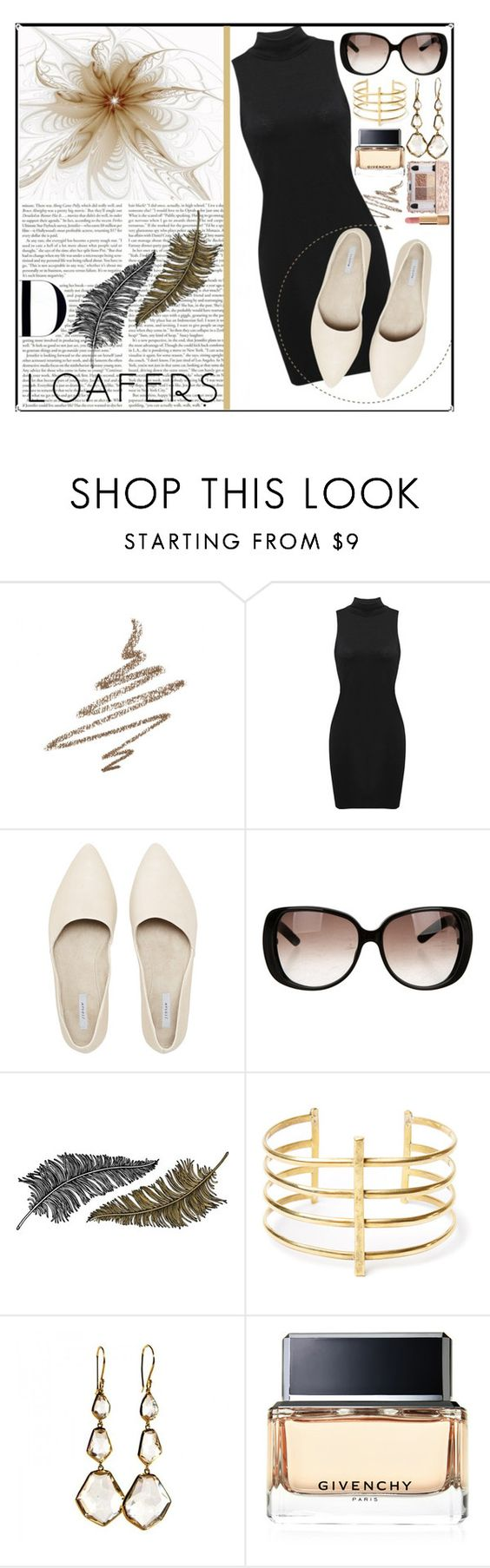 """Fall Footwear Trend: Loafers"" by sealy913 ❤ liked on Polyvore featuring Anastasia Beverly Hills, Gucci, Paperself, BauXo, Ippolita, Givenchy and Chanel"