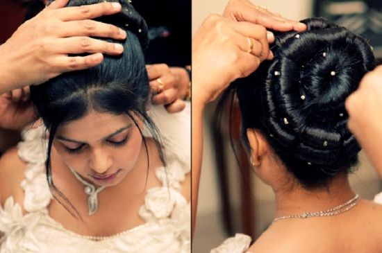 Top 9 Indian Christian Bridal Hairstyles Styles At Life Bridal Hair Buns Bridal Hair Images Bridal Hair