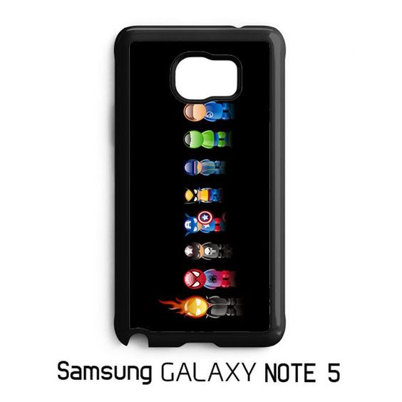 Marvel Avengers Comic Character Samsung Galaxy Note 5 Case