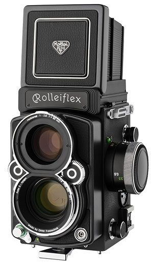 how to use a rolleiflex