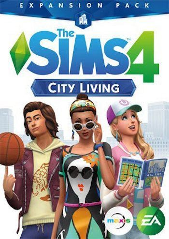 The Sims 4 City Living Expansion Pack Pc Digital Download 9 99 In 2020 Sims 4 City Living Sims Sims City Living