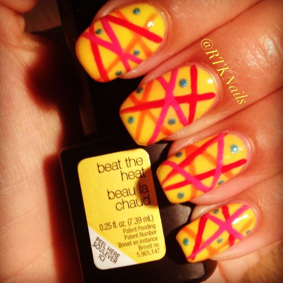 Nails by @rtknails #sensationails #sensationailgel #gelpolish