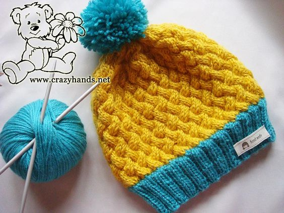 Knitted Headband Pattern On Circular Needles : 1 2 3 4 Knitting Swedish style hat with circular needles ...