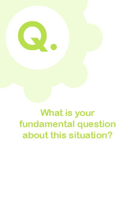 Example from Powerful Coaching Questions to Achieve Your Goals
