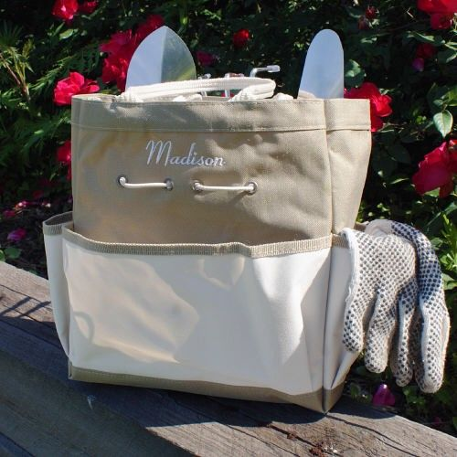 Personalized Embroidered Garden Tool Tote Bag - iMallShoppe.com