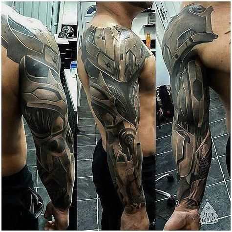 Tattoos On Neck Shoulder Armor Tattoo Armour Tattoo Best Sleeve Tattoos