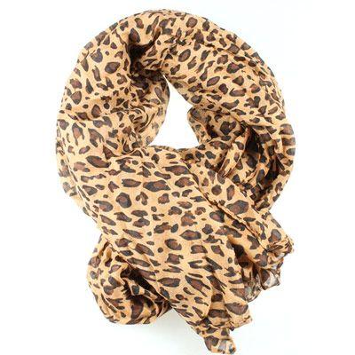 14,90EUR Leopardenschal Schal mit Leopardenmuster