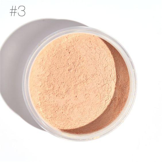 New Brand MRC Fix Loosed Powder waterproof Brighten Face Powder Makeup mineralize skinfinish Loose Powder Concealer maquillage