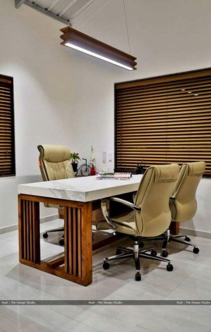 Pin By Vinod Pawar On Office In 2019 Office Table Design