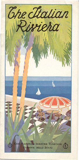 the italian riviera circa 1930 liguria vintage liberty. Black Bedroom Furniture Sets. Home Design Ideas