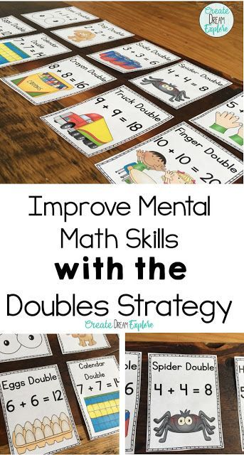 Check out these fun activities for teaching the Doubles Strategy! This is perfect for first, and second grade. Doubles BINGO, I have who has, My Doubles Booklet as well as some eye catching posters to help students master their doubles math facts.