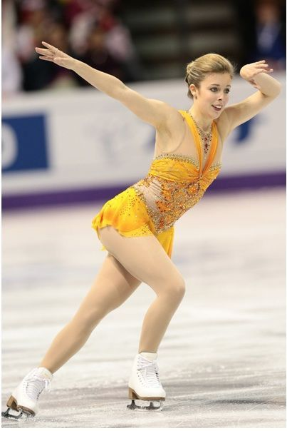 Ashley Wagner(USA) : World Figure Skating Championships 2013 in London(CANADA)