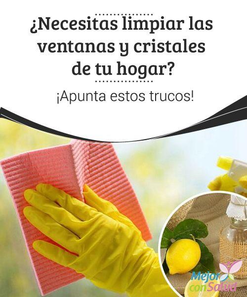 Necesitas limpiar las ventanas y cristales de tu hogar - Trucos para limpiar cristales ...