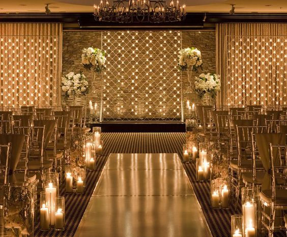 This is very pretty and a similar color palette to the Jerome Ballroom. All decor can be reused when room is flipped...